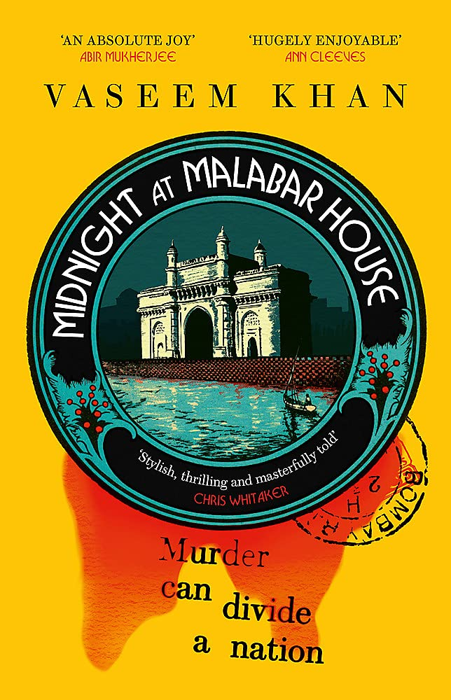 Cover of Midnight at Malabar House by Vaseem Khan
