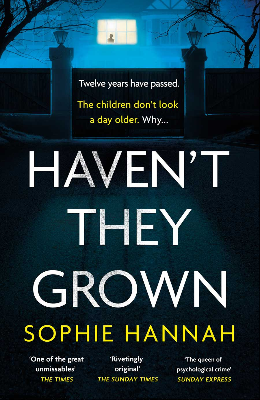 Cover of Haven't They Grown by Sophie Hannah