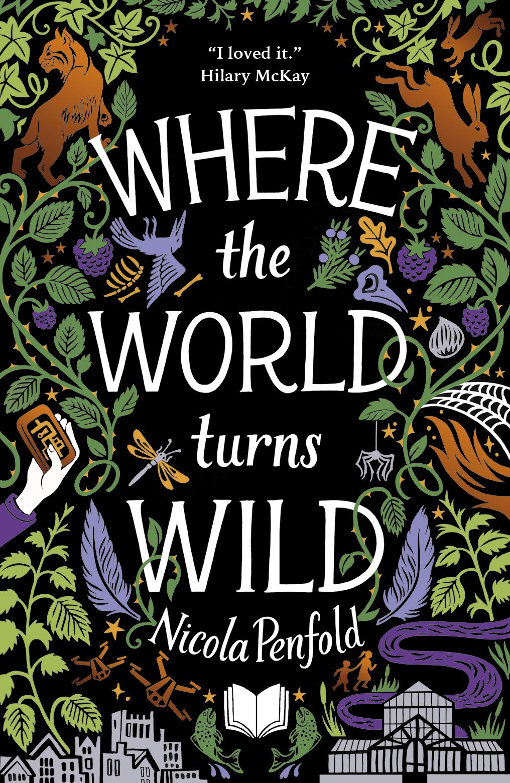 Cover of Where the World turns Wild by Nicola Penfold